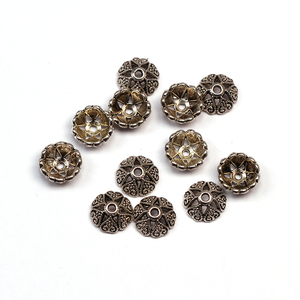Antique Beads End Cap 8mm Fit for Bracelet