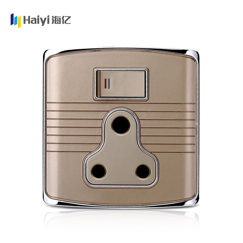 2016 best selling haiyi items 15A bangladesh switch for electric market