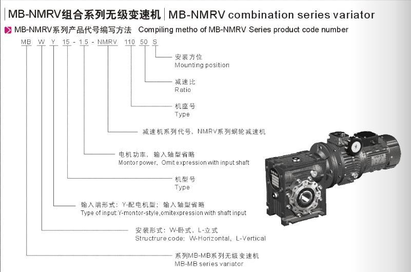 Kết quả hình ảnh cho drawing MB + NMRV VARIATOR