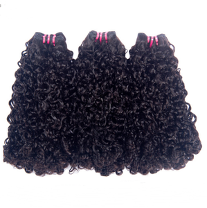 Highest Quality Double Drawn Virgin Funmi Hair Cuticle Aligned Human Hair