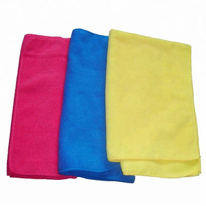10 Pack of Lint Free Microfibre Magic Cleaning Cloths with Private Label For Polishing, Washing, Waxing