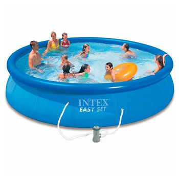 INTEX 28158 15FT X 33IN Inflatable Easy Set Above Ground Swimming Pool,  View easy set pool, INTEX Product Details from Xiamen New Stars Import & ...