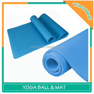 NBR Floor Rolling Outdoor Thick Blue Gym Mat