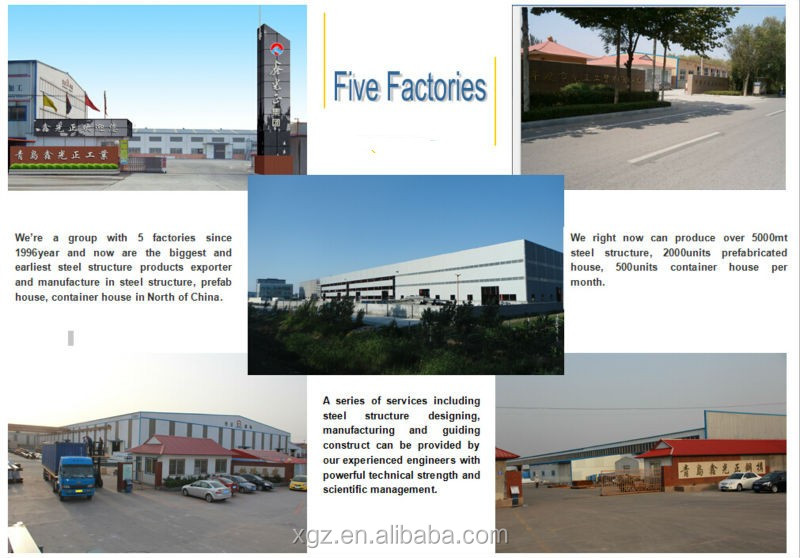 Steel prefabricated real estate school building