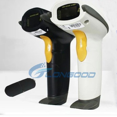 New Hi-tech Laser RF 2.4G Wireless Barcode Scanner