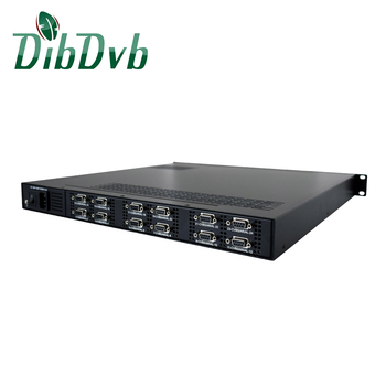 24 channels AV to IP converter mpeg2 digital encoder