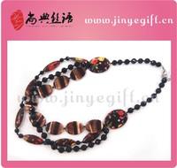 Handmade Fashion Shell Gemstone Latest Design Bead Necklace