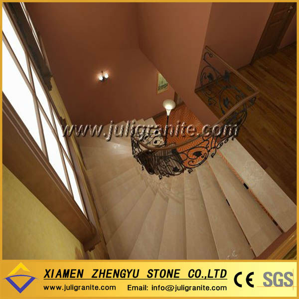 Hotsale interior and exterior spiral stone stairs designs