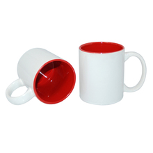 11oz White Coated Inner Colorful Mug for Sublimation Wholesale