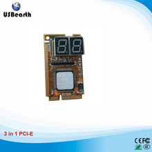 Mini Combo Debug Card For Laptop Motherboard 3 In 1 (PCI-E)
