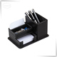 black whiteboard marker pen holder with memo pad holder