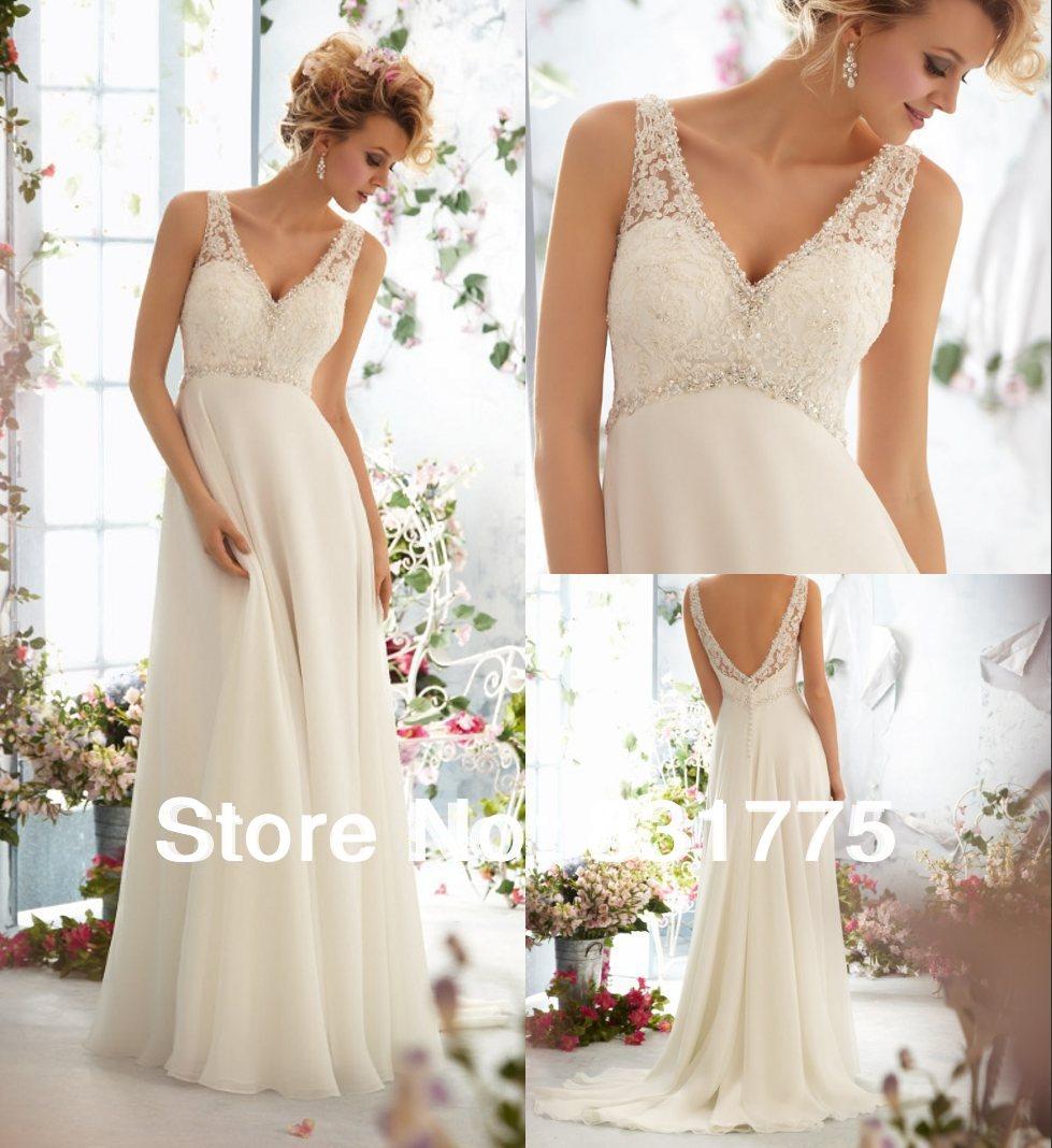 Wedding Dress Boho Wedding Dress Infinity Wedding Dress: Free Shipping Beach Wedding Dress 2014 Hippie Wedding