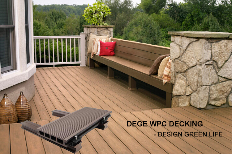 Factory Direct Composite Material WPC Outdoor Decking