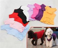 Pet Clothing Wholesale dog clothes Dress Blank T-Dress T-shirt Sports Dress