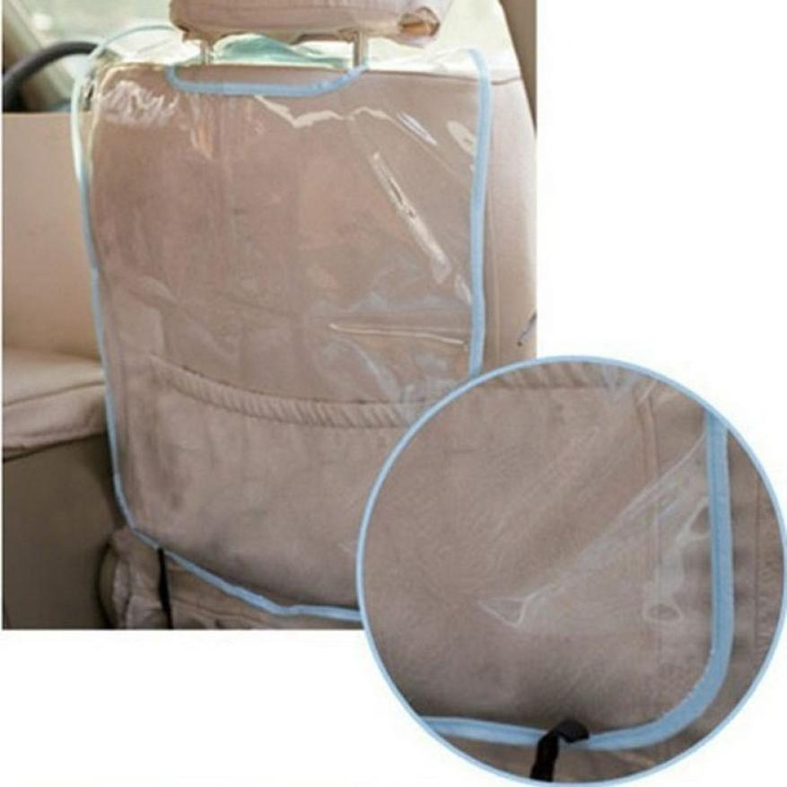 Автомобиль автоматический Seat задняя часть протектор крышка для дети удар циновка грязь чистые 0 - 6 лет младенцы портативная автомобиль безопасный Seat дети