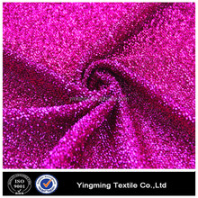 metallic polyester lurex fabric/silver shiny lurex fabric