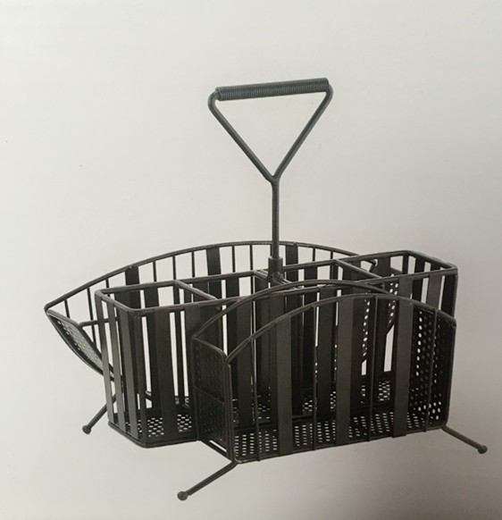 Family outdoors use cheap mini picnic metal basket