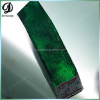 Synthetic emeralds, synthetic green beryl (Be3Al2[Si6O13]) rough stones prices per carat