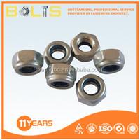 china made self locking nut with nylon insert good quality