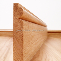 Wood Skirting Board For Solid Wood Flooring - Buy Wood Skirting ...