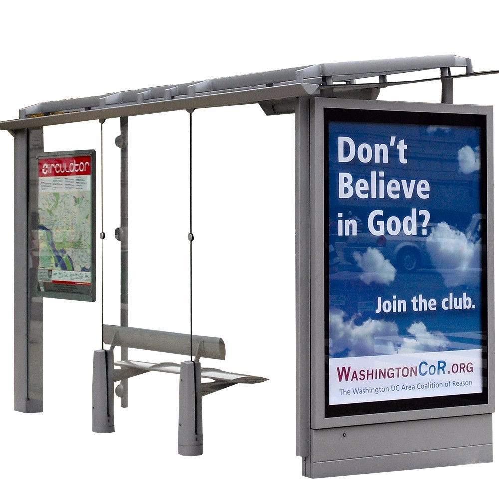product-YEROO-Modern Stainless Steel Bus Stop Shelter Design-img