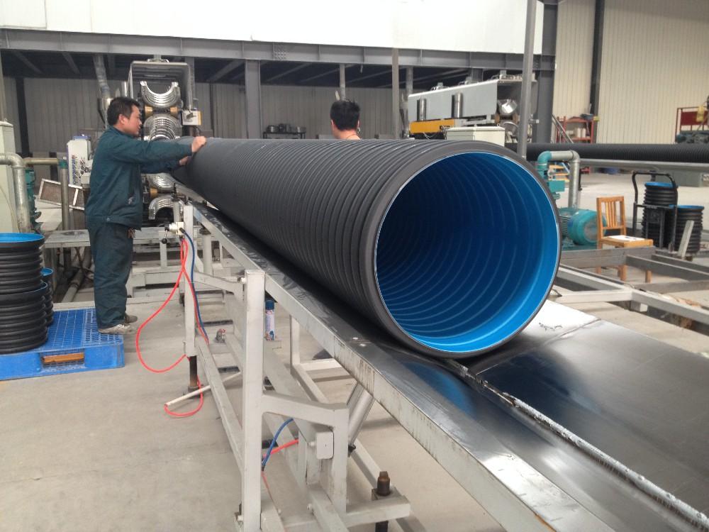 Trade Assurance Factory 24 Inch Pe Corrugated Drain Pipe