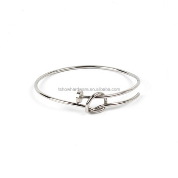 h magnet bracelet buckle cable titanium stainless steel product stretch spring bangles fashion