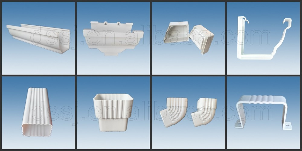 Dingsu Plastic K Type Square Pvc Valley Gutter Buy Pvc