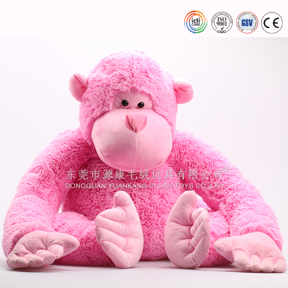 Giant plush monkey teddy bear