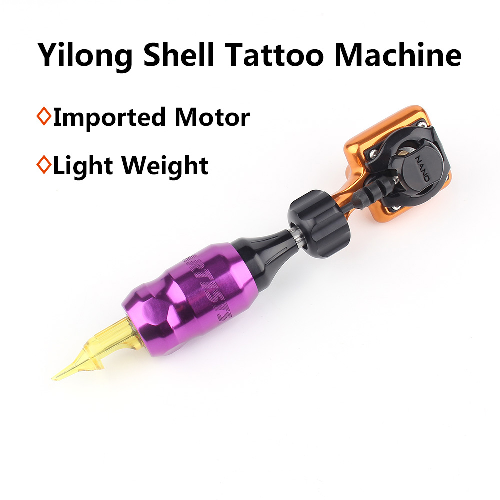 Yilong High Quality Imported Motor Shell Tattoo Machine