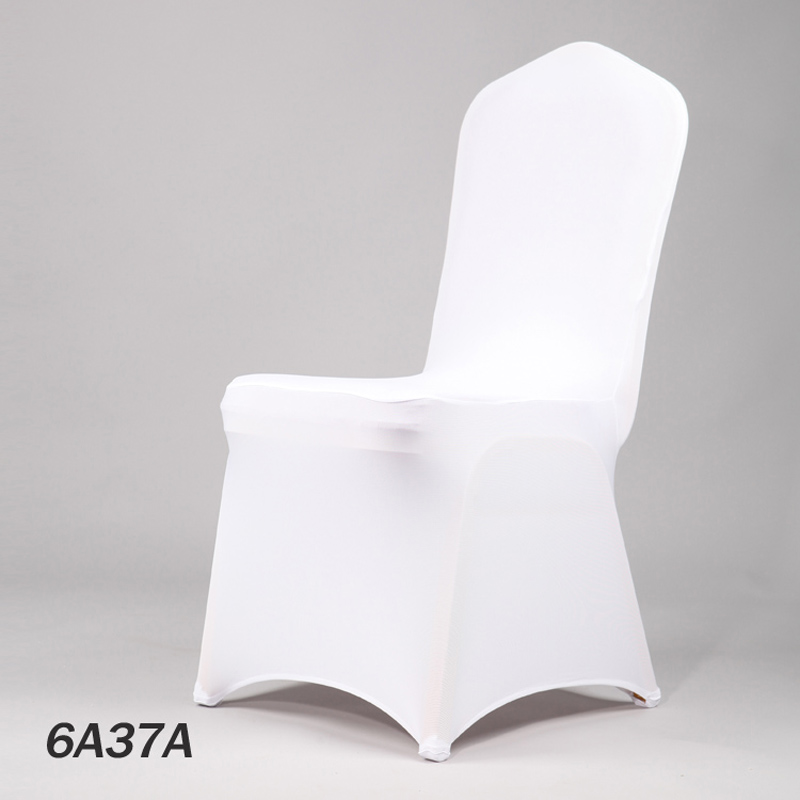New 50colour Hotel Lycra Stretch Party Chair Covers White