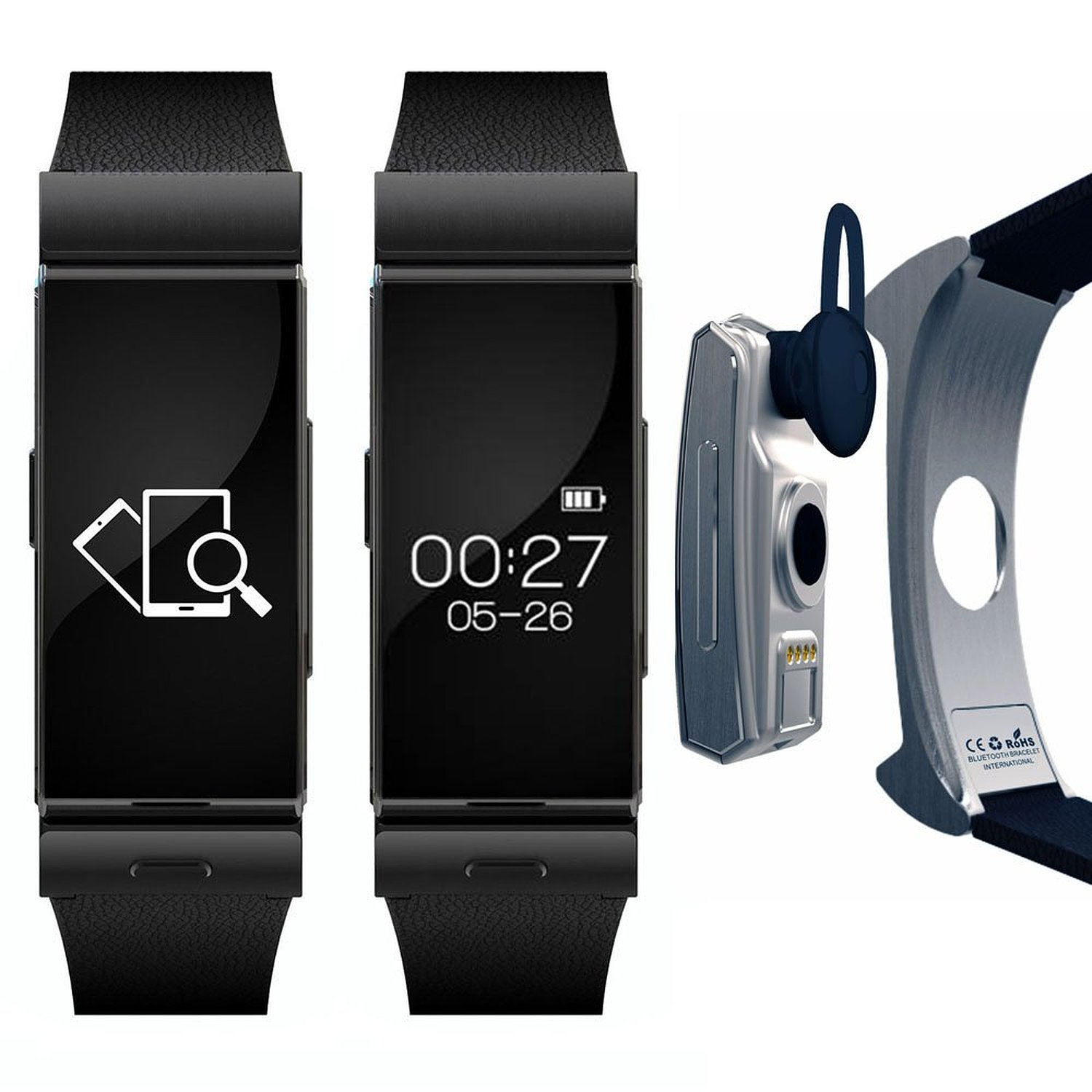 Get Quotations Indigi Bluetooth Oled Display Smart Watch Phone Bracelet For All Galaxy S5 S4 Note