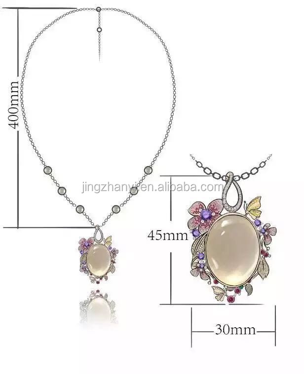 K gold edition,Silver jewelry version,Silver necklace version,Gold necklace version,Luxurious necklace silver version