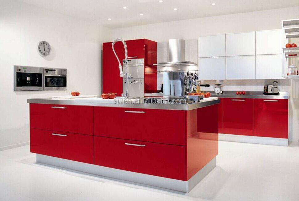 China high gloss acrylic kitchen cabinet door buy china for Acrylic sheet for kitchen cabinets