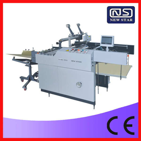 YGFM-1100A Automatische Foto Lamineermachine, papier Threading Machine, Plastic Film Machine