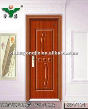 PVC Wood Kitchen Shutter Doors Design WFP 071(YIWU Office) Part 56