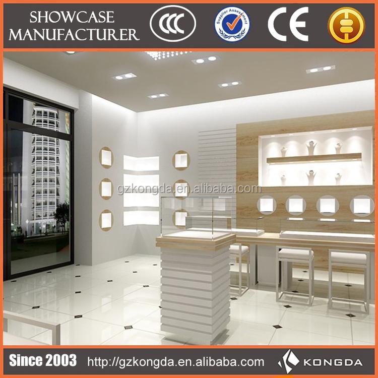 Distinctive And Graceful Cash Counter Jewellery Shop Design