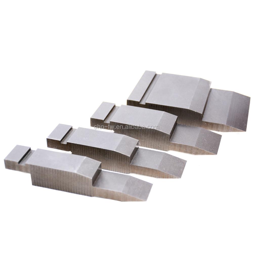 Produzione di Alta Qualità h fondo smettere di zip in metallo dello stampo della macchina