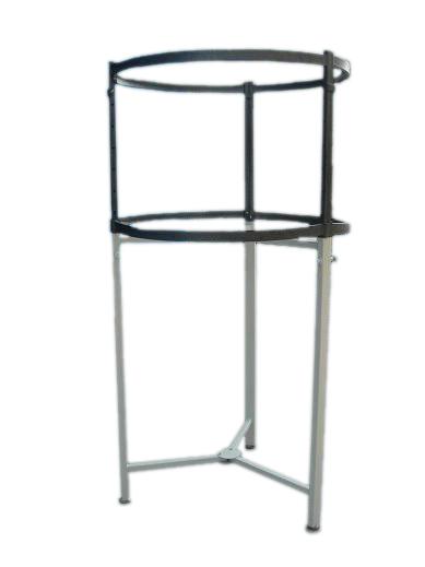 Metal Hanging Bar Circle Clothes Rack With Hang Rail Display Racks