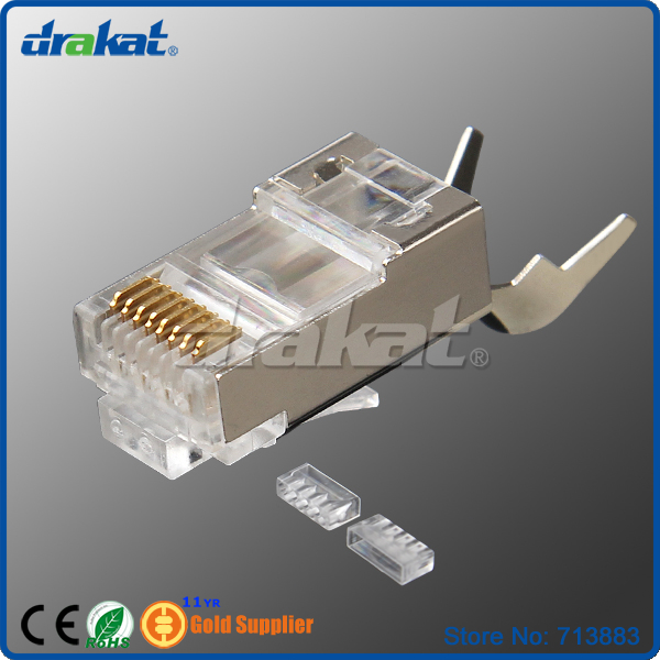 ftp shielded rj45 cat6 modular plug network connector with ... standard cat 6 wiring diagram cat 6 wiring diagram with load bar