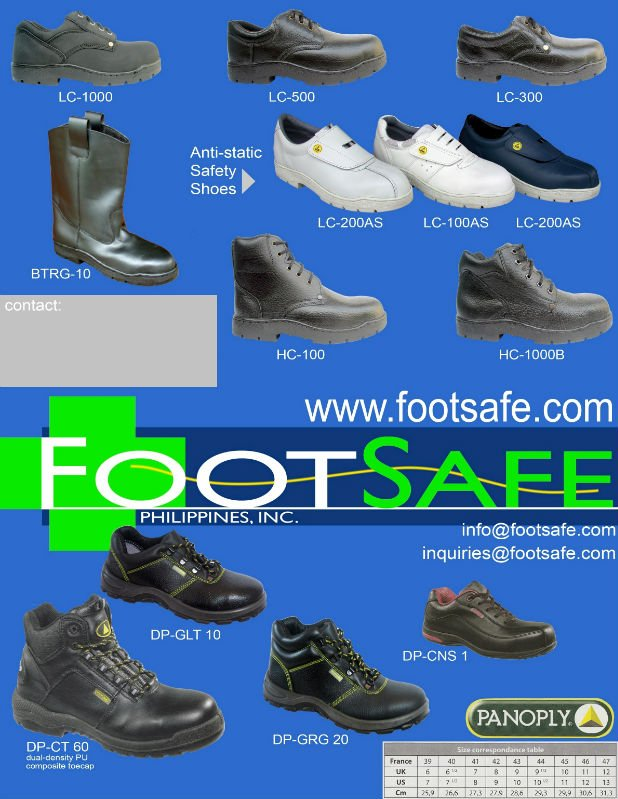 SAFETY FOOTSAFE SHOES FOOTSAFE SAFETY 5EHwq5Z