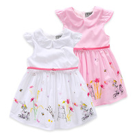 Beautiful Baby Clothes 3 Year Old Knitted Baby Girl Dress Wholesale