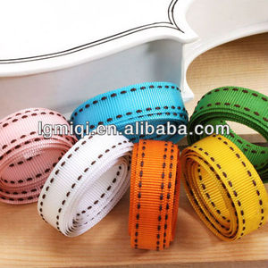 Plastic wholesale Stitch Grosgrain Ribbon