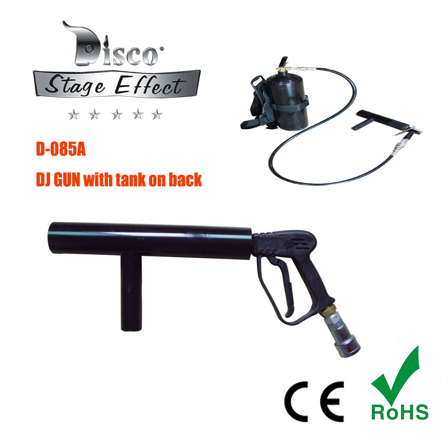 CO2 cannon co2Jet machine hand-held DJ co2 gun