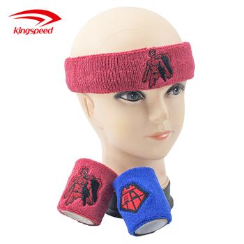 Bulk Promotional Marathon Custom Sport Terry Cloth Sweat Headband Gift Set 96dbcb4dc7a7