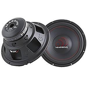 Massive Audio TKO12S4 - 600w Single 4 Ohm Car Audio High Power Subwoofer