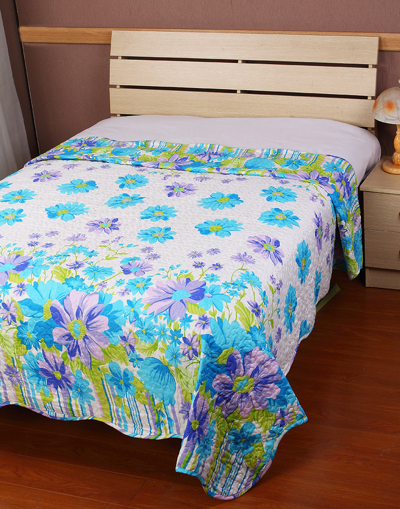 Handmade bed sheets design - 3pcs Custom Wholesale Hand Work Hand Painted Handmade Bed Sheets Design