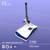 Z15B dermatology laser , co2 skin care , co2 laser therapy equipment