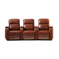 Top Grain Leather Leather Recline VIP Home Cinema Sofa Theater Sofa
