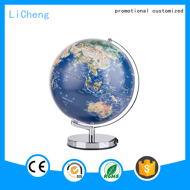 2016 wholesale promotional Educational Earth Globe on Metal Stand